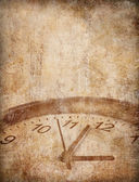 Grunge time concept background — Stock Photo