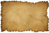 Grunge torn paper isolated on white — Stock Photo