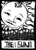 Sun Tarot — Stock Vector