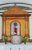 Statue of Jesus Christ. Sacred Heart. — Stock Photo