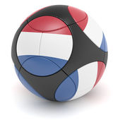 Netherland Soccer Ball — Stock Photo