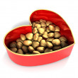 Red heart box — Stock Photo #8088999