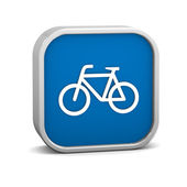 Bicycle sign — Stock Photo
