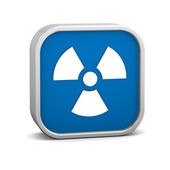 Radiation sign — Stock Photo