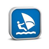 Signo de windsurf — Foto de Stock