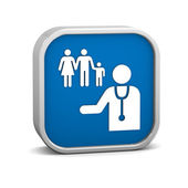 Family Practice Sign — Stock Photo