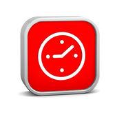 Zegar znak — Zdjęcie stockowe