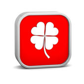 Clover Sign — Stockfoto
