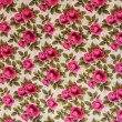 Retro textile pattern with floral ornament — Stock Photo