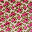 Stock Photo: Retro textile pattern with floral ornament