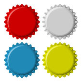 Bottle Cap — Vector de stock