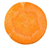 Carrot cut in slices — Stock Photo