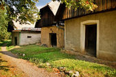 Vecchie case di argilla — Foto Stock