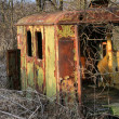 Stock Photo: Abandoned trailer
