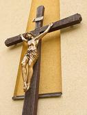 Ježíš na kříži — Stock fotografie