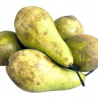 Pears on white — Stock Photo
