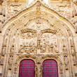 Facade of cathedral of Salamanca — Stock Photo