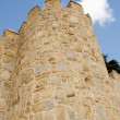 Towers of fortress wall in Avila — Stock Photo