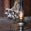 Kerosene lamp — Stock Photo