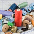 Sewing supplies — Stockfoto
