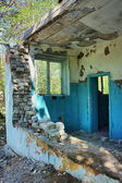 Destroyed an abandoned house in hdr — Stock Photo