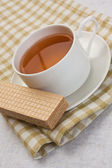 Morning tea — Stock Photo