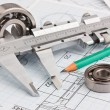 Tools and mechanisms detail — Stockfoto #8682586
