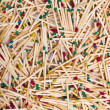 Background of wooden matches — Stock Photo