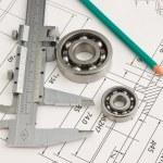 araç ve mekanizmalar detay — Stok fotoğraf