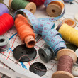 Stock Photo: sewing