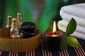 Gereedschappen en accessoires voor spa-behandelingen — Stockfoto