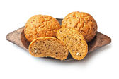Loaf of white bread — Stock Photo