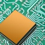 Chip auf dem board — Stockfoto