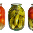 Preserved Vegetables — Stock Photo