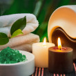 Tools and accessories for spa treatments - Stockfoto