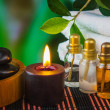Tools and accessories for spa treatments — 图库照片