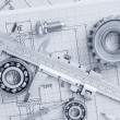 Tools and mechanisms detail — Stock Photo #9700213