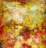 Abstracte mixed media — Stockfoto