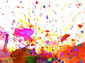 Colorful paint splash — Stock Photo