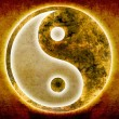 Royalty-Free Stock Photo: Yin and yang background