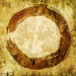 Royalty-Free Stock Photo: Hand painted zen circle - enso