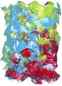 Teksturowane z nożem malarstwo akryl — Zdjęcie stockowe