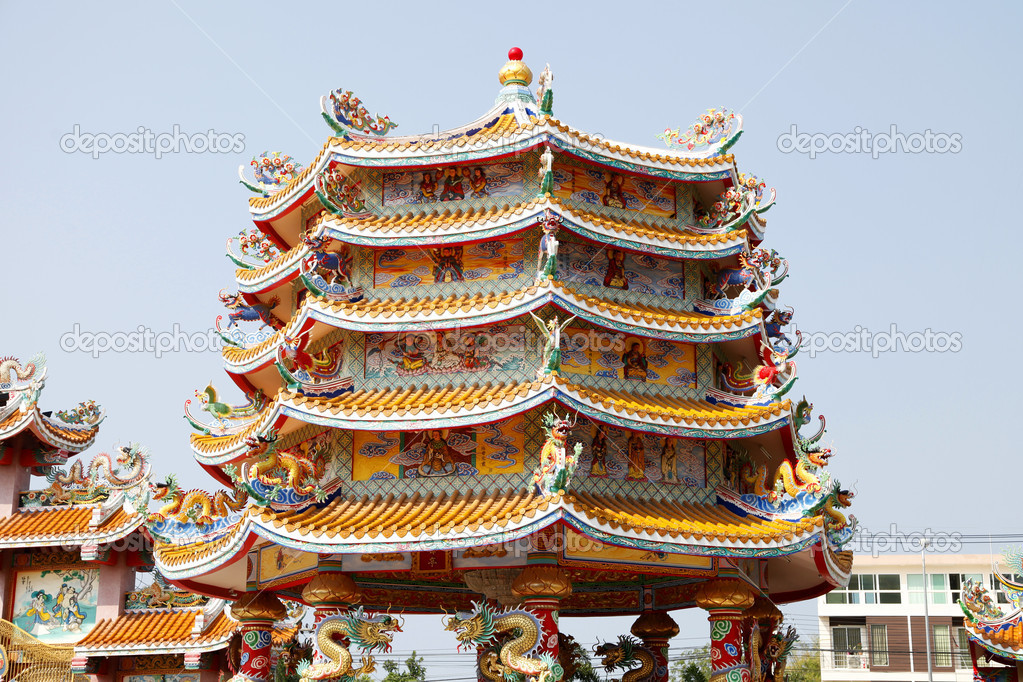 Chinese Temple Vector Chinese Temple Photo by