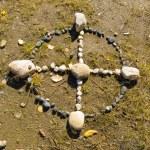 Native American Medicine Wheel or Sacred Hoop — Stock Photo