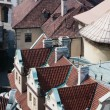 Stock Photo: Rooftops of Prague in CzechiEurope