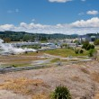 Wairakei geothermal power station in New Zealand - Stockfoto