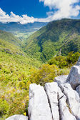 Takaka hill limestone outcrops, Takaka valley, NZ — Stock Photo