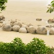 Stock Photo: Famous NZ travel destination of Moeraki Boulders