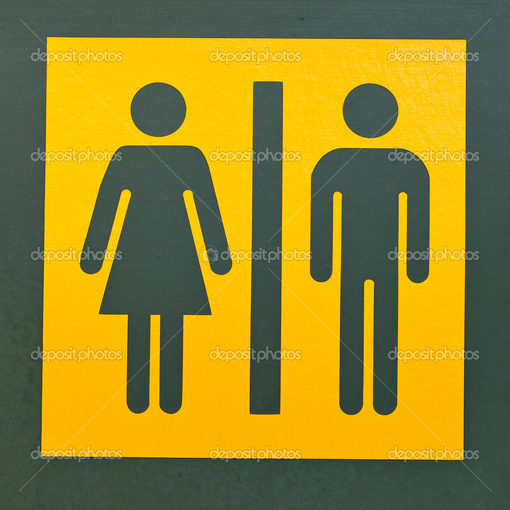 Imagenes De Baño Mujeres:Men Women Bathroom Sign Clip Art
