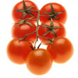 Heap of cherry tomatoes — Stock Photo